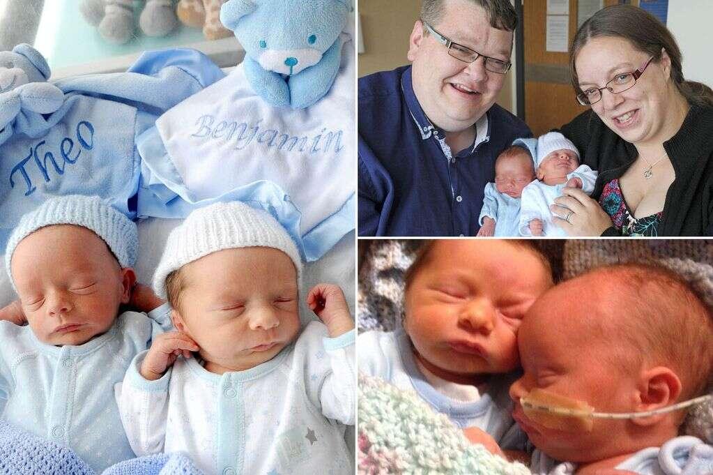 Gêmeos nascem com intervalo de meia hora e acabam vindo ao mundo em dias diferentes