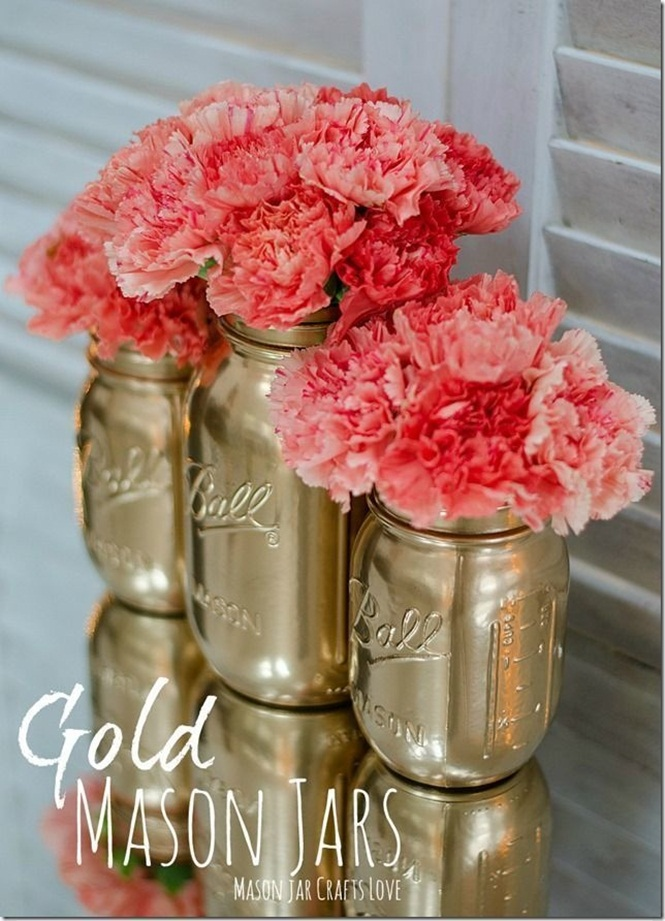 Ideias criativas para usar cores douradas em seus objetos