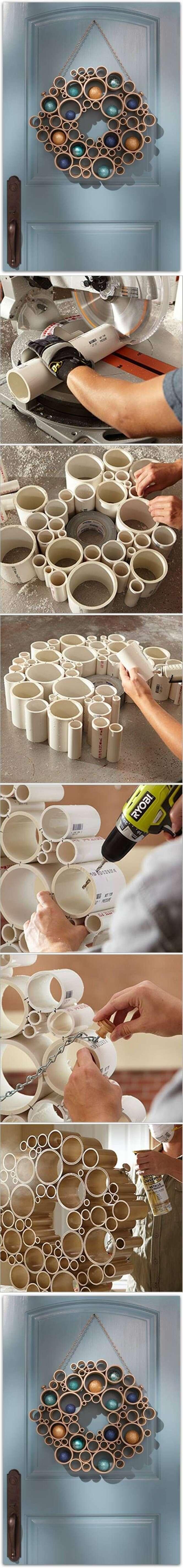 Ideias criativas para usar canos de PVC