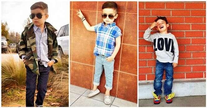 Conheça o menino que aos 5 anos já é ícone da moda