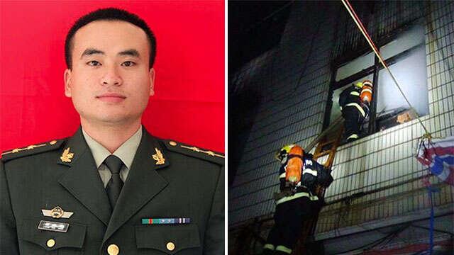 Bombeiro morre como herói ao cair de prédio em chamas segurando menina de 2 anos