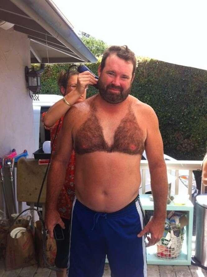 As mais bizarras depilações masculinas
