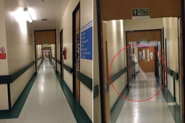 Enfermeiro tira foto no corredor de hospital para provar à namorada que estava trabalhando e leva enorme susto ao notar fantasma na imagem