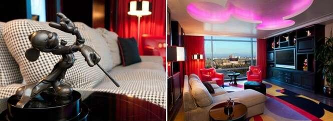 Suítes temáticas de hotéis que vão te fazer ficar pertinho dos personagens famosos