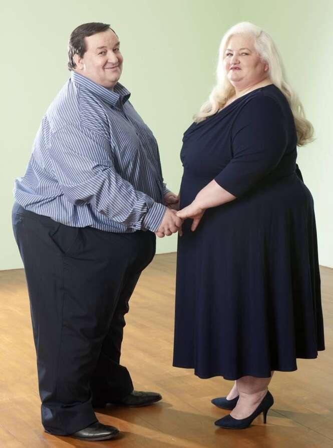 Casal obeso pode finalmente consumar seu casamento e ter relação íntima após emagrecer