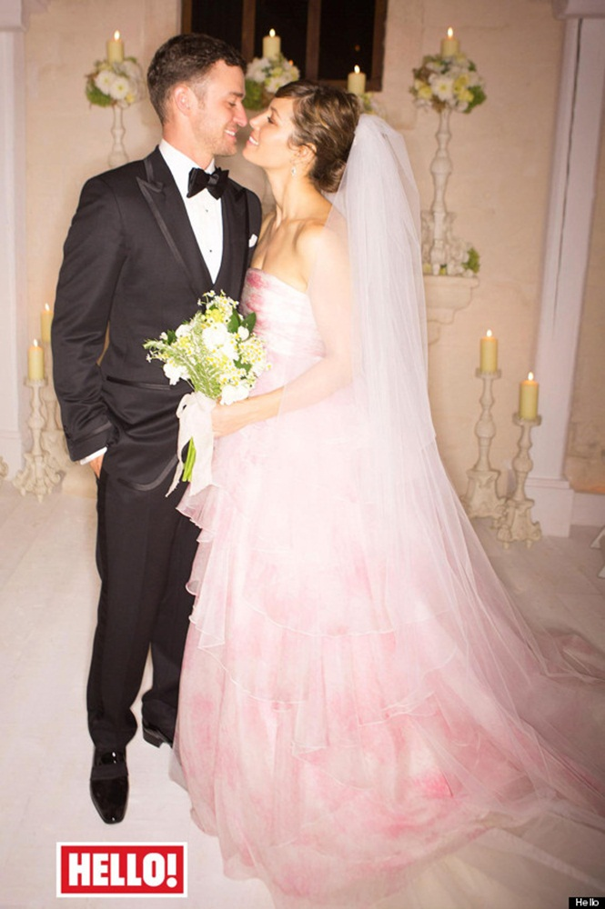 Timberlake and Biel wedding in Hello!