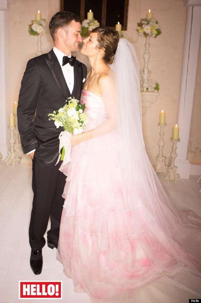 Timberlake and Biel wedding in Hello!