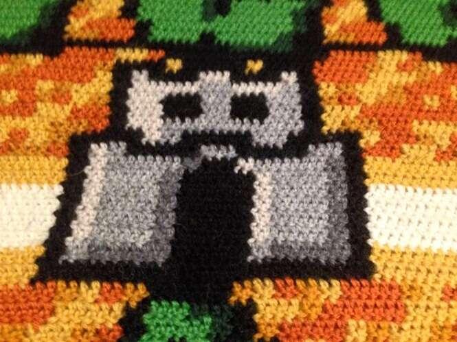 Noruegu 234 S Cria Tapete De Croch 234 Que Reproduz Jogo Do Mario