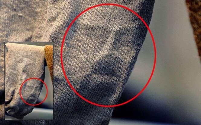 Lugares estranhos que pessoas afirmaram ter visto o rosto de Jesus