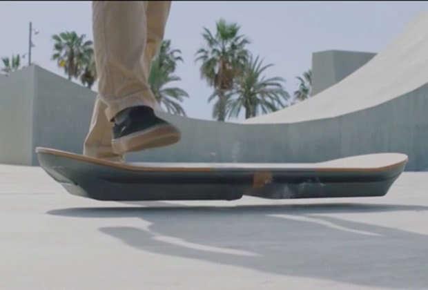 Empresa japonesa lança skate flutuante