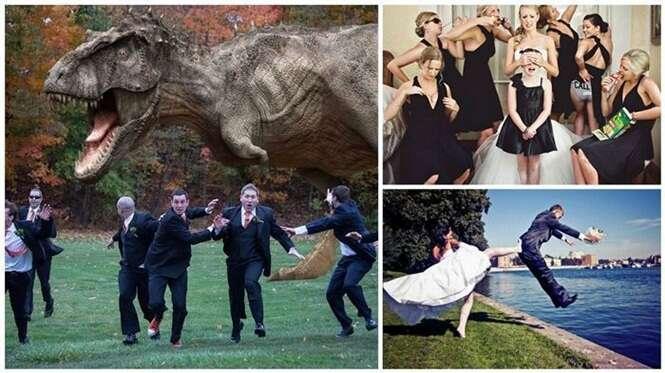 Fotos épicas registradas em casamentos