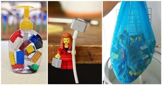 Formas interessantes de usar Lego