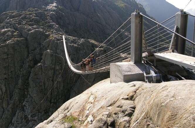 Pontes assustadoras que você não vai querer cruzar