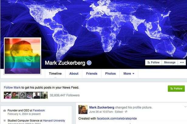 Alterou a foto de perfil do Facebook para a bandeira de arco-íris? Saiba que você pode ter sido manipulado