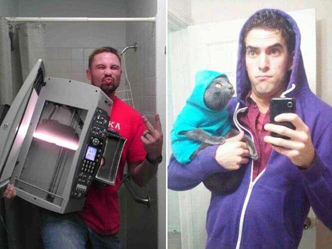 As piores selfies do mundo