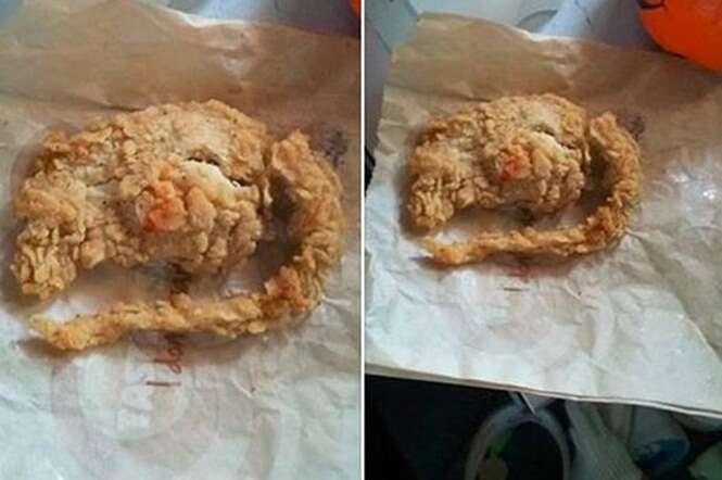 Rapaz pede peito de frango em lanchonete e recebe suposto rato empanado