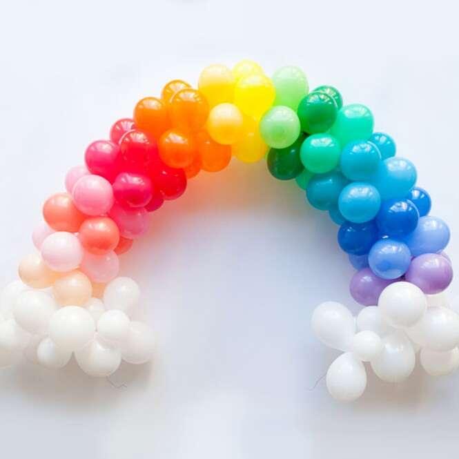 Resultado de imagem para diferentes maneiras de usar balões em festas