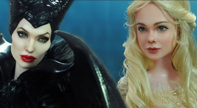 Artista usa talento para transformar bonecas em celebridades