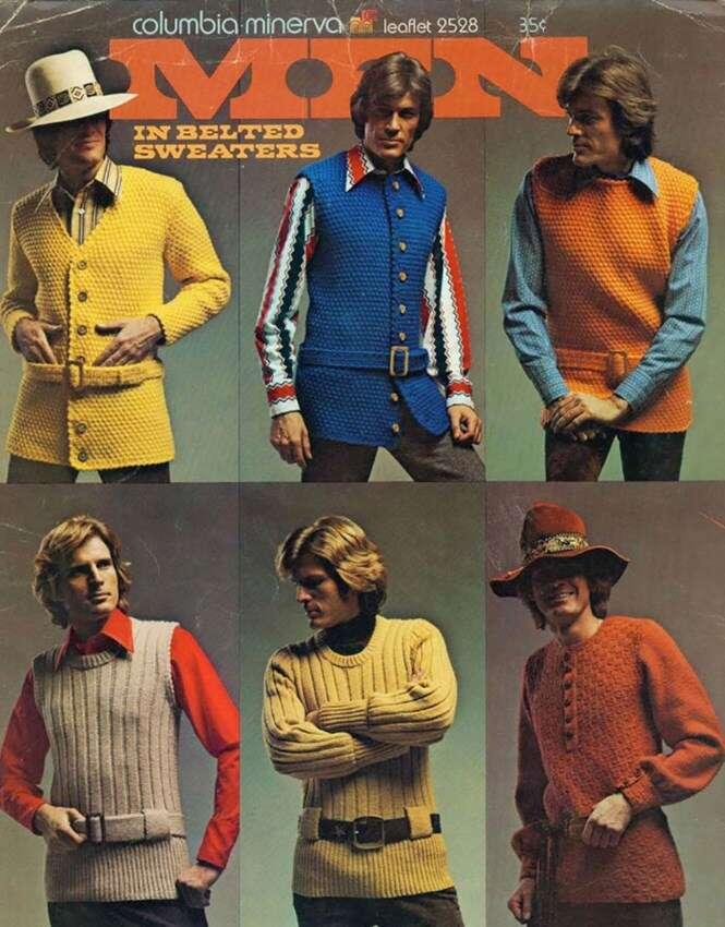 Moda masculina de 1970