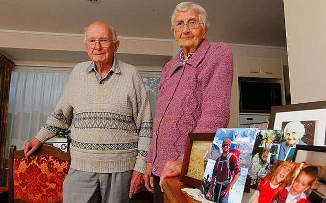 Idosos casados durante 67 anos morrem em intervalo de 2 horas