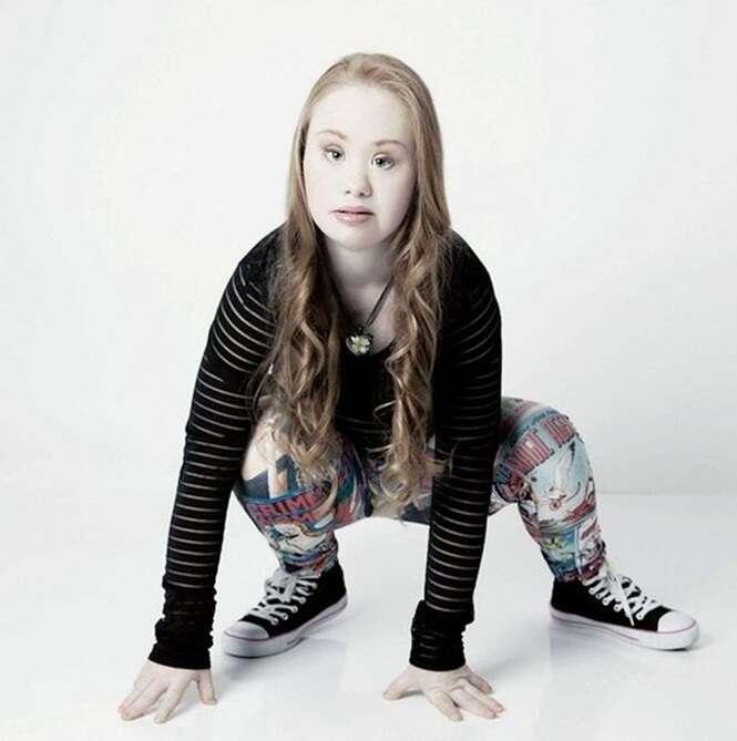 Adolescente com síndrome de Down que perdeu 18 quilos para realizar sonho de se tornar modelo consegue ofertas de emprego