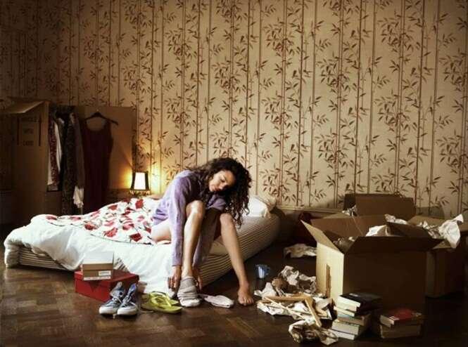 Estudo afirma que dormir em quarto desarrumado prejudica sono e leva a estresse