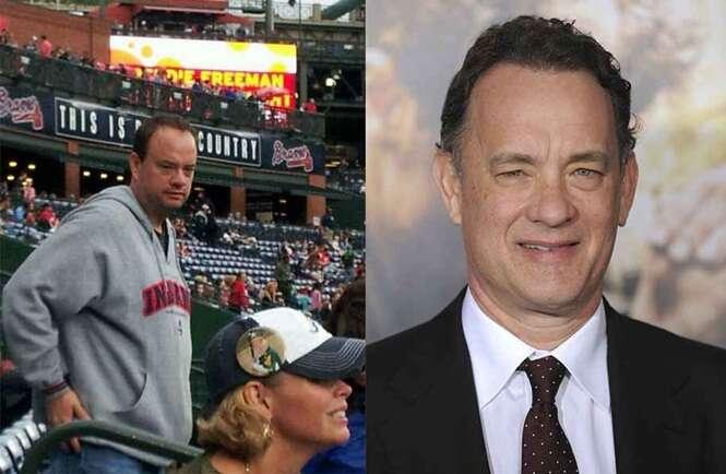 Pessoas idênticas às celebridades