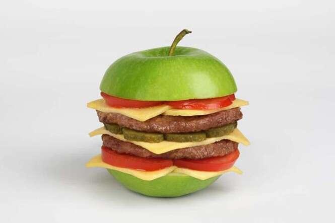Objetos incríveis feitos com alimentos