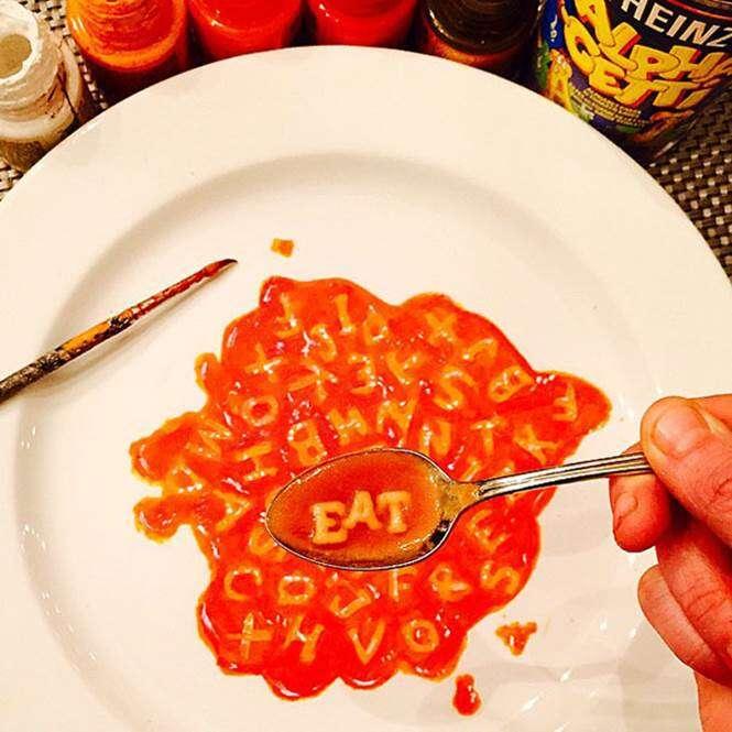 Pintura em pratos