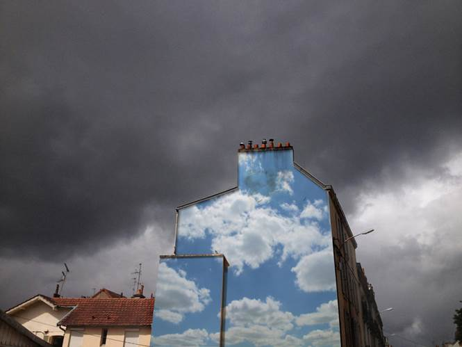 Pintura de nuvens
