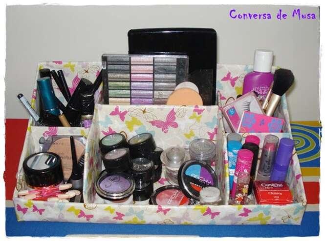 Muitas vezes 26 ideias sensacionais para organizar a maquiagem em sua casa FD71