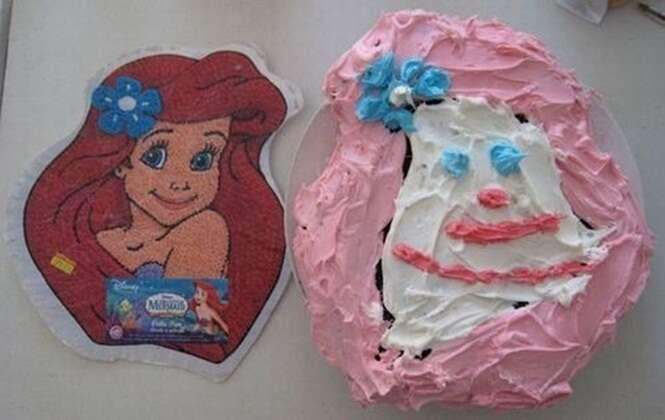 Bolos com tema da Disney que arruinaram festas de aniversário