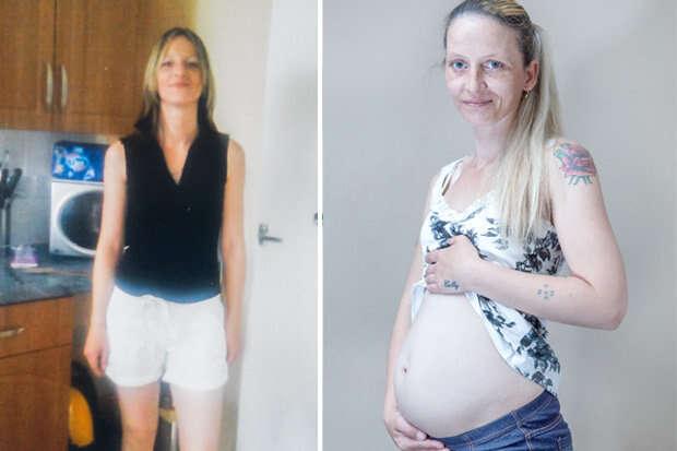 Mulher continua com corpo de grávida quase dois anos após dar à luz