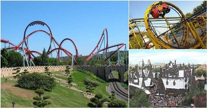 Os mais loucos parques de diversão do mundo