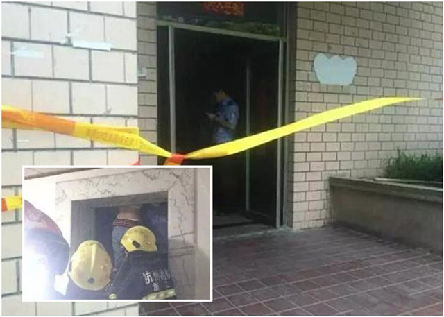 Mulher morre após elevador fechar em sua cabeça e subir