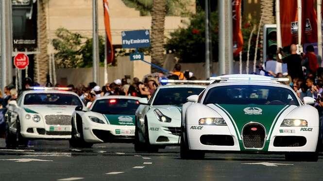 Viaturas policiais mais rápidas e luxuosas do mundo