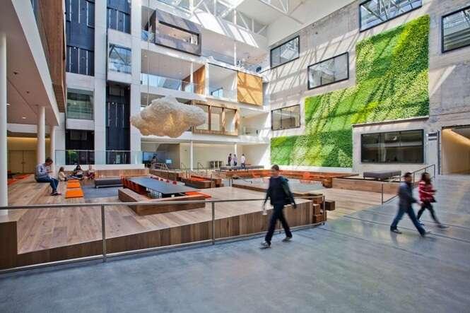 Os escritórios mais legais do mundo para se trabalhar