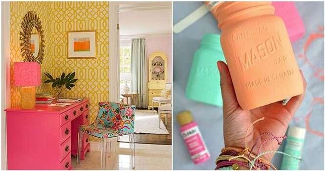 Imagens que vão fazer você querer adicionar cor à sua casa