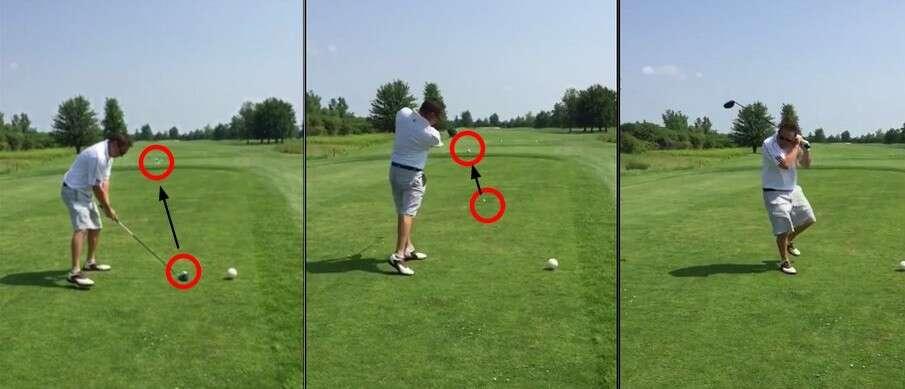 Golfista dá forte tacada em bola e mata gaivota