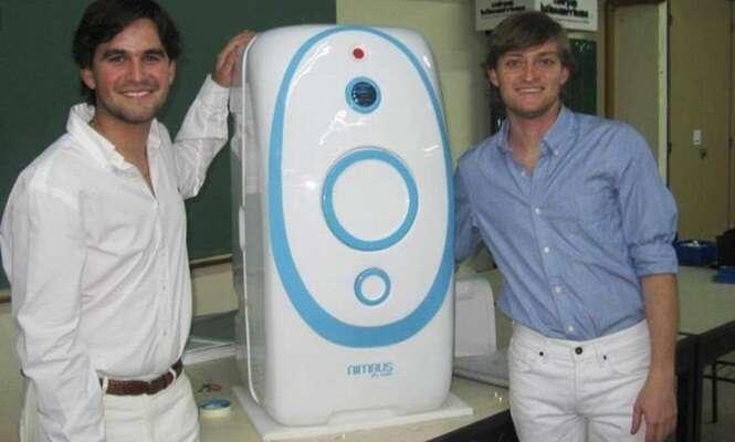 Argentinos inventam máquina de lavar que não utiliza água