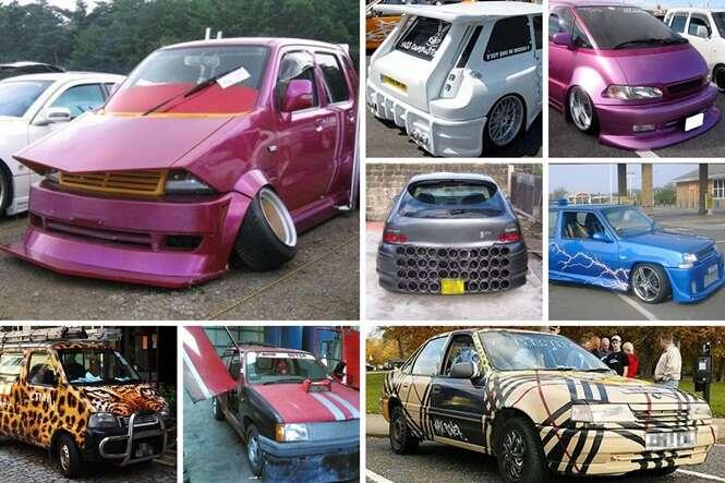 Os carros mais bizarros encontrados pelo mundo
