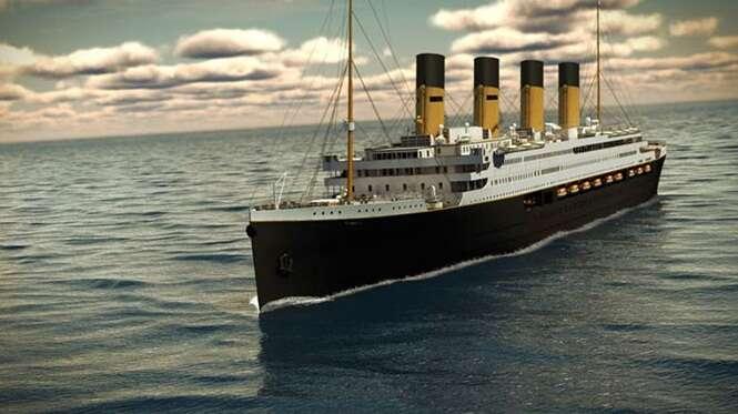 Novo Titanic, réplica da versão que afundou em 1912, se prepara para fazer travesseia que nunca aconteceu