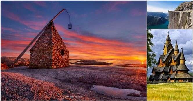 Fotos de paisagens da Noruega que você não vai acreditar que são reais