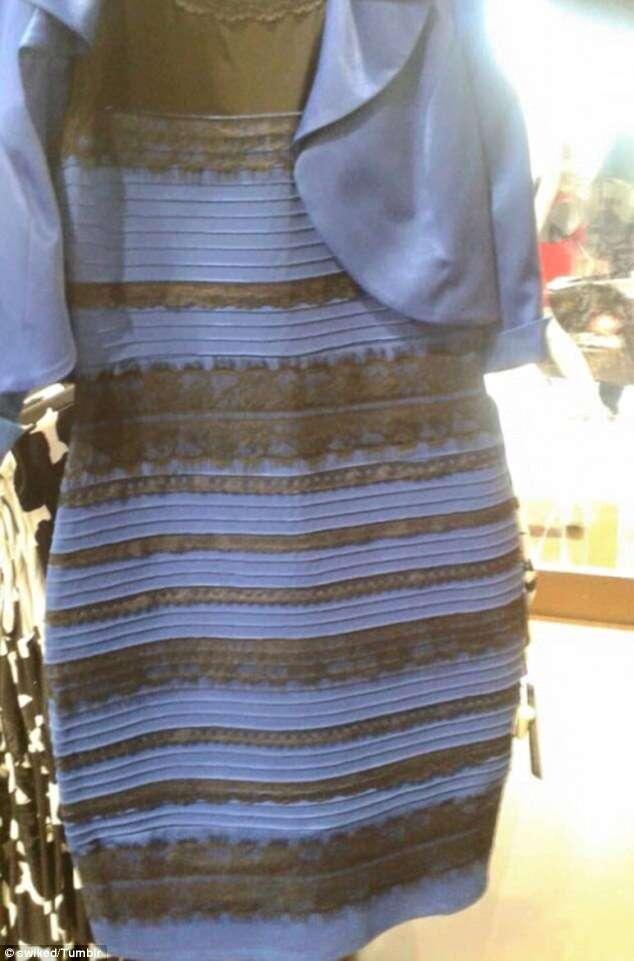 Vestido que causou polêmica na internet