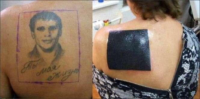 Pessoas que se arrependeram de suas tatuagens