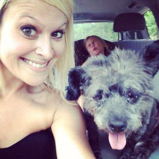 Mulher adota cão com câncer em fase terminal para dar os melhores últimos dias de vida ao animal