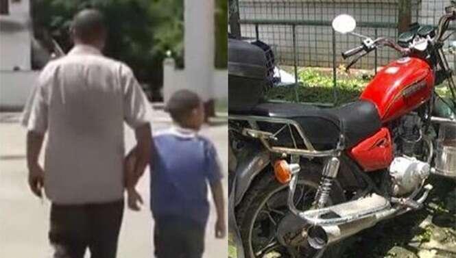 Pai abandona filho de 9 anos em delegacia após tentar usá-lo como moeda de troca
