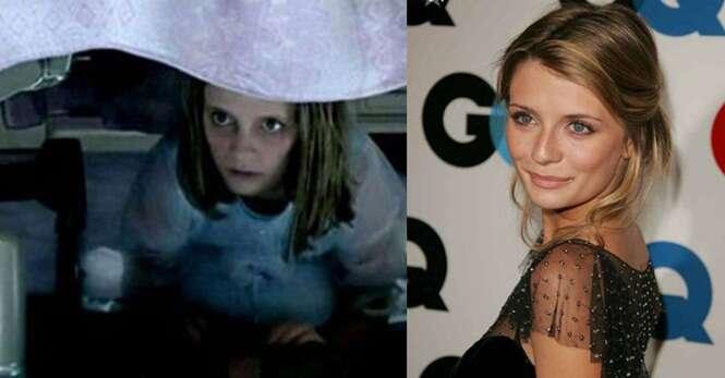 Lindas atrizes que ficaram assustadoras interpretando terríveis personagens em filmes de terror
