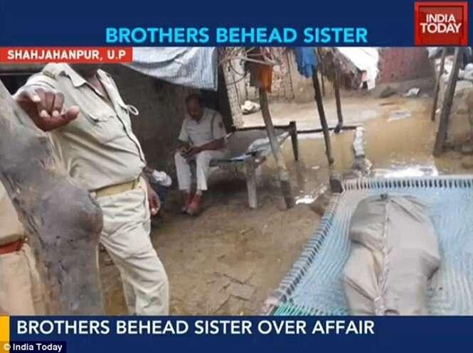 Irmãos decapitam irmã adolescente e desfilam com cabeça da vítima porque desaprovavam relacionamento amoroso dela