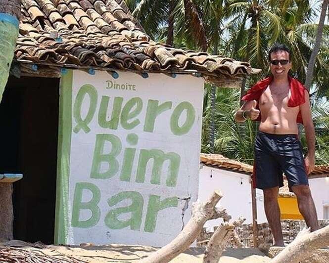 Bares brasileiros com nomes bizarros